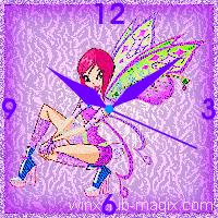 winx clock tecna believix horloge