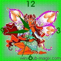 winx clock layla enchantix horloge