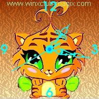 winx clock tigre pet