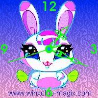 winx clock milly pet