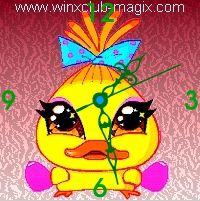 winx clock chicko pet