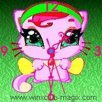 winx clock coco pet