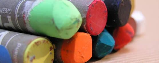 C t peinture pastels for Peinture pastel gras