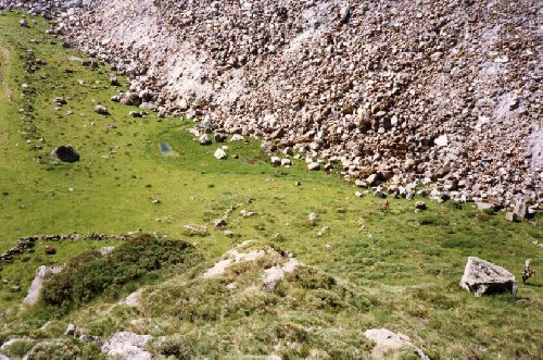 Cromlech du Col de la Peyre (Ph. Coll. Privée / Ariège Magazine)