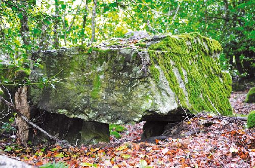 Dolmen du Lasset (Ph. Laurent Crassous)