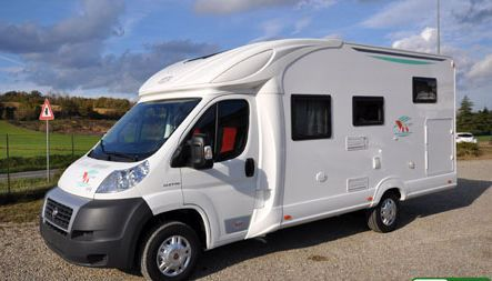 camping-car  neuf profilé prix économique
