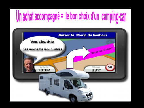 Un achat accompagné c'est faire le bon choix d'un camping-car