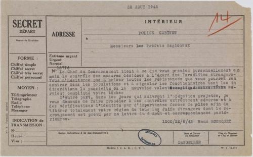 Bousquet télégramme préfets Juifs déportation.jpg