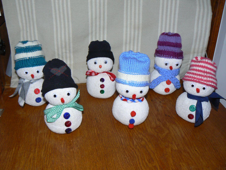 Noel suzepassion - Bonhomme de neige en chaussette ...