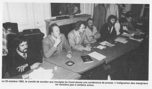 Comité de soutien 1982 Coral