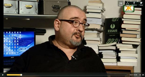 Michel Drac, fondateur du Retour aux Sources, préfacier de Survivre. (source inconnue)