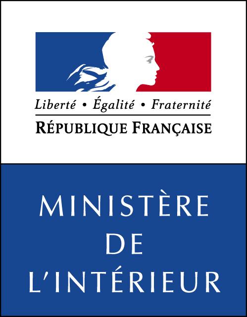 Le logo du ministère de l'intérieur
