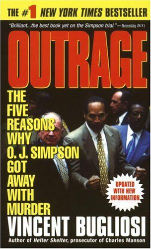 oj simpson couverture de Outrage