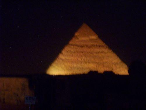Hurghada 2009 Pyramides sons et lumières