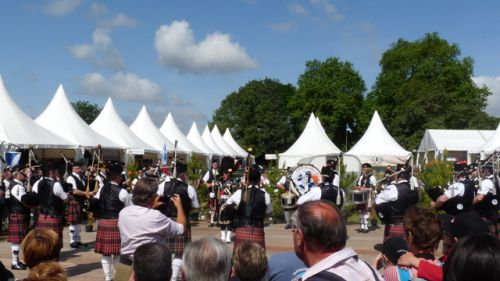 Askol Ha Brug Pipe Band aux GAME FAIR de Chambord