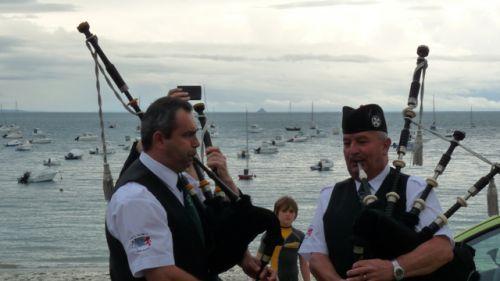 Séance d'accords à Port Mer en Cancale