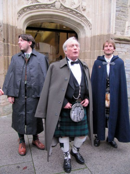 Jean-Philippe, Jacques et Stephen à Rennes