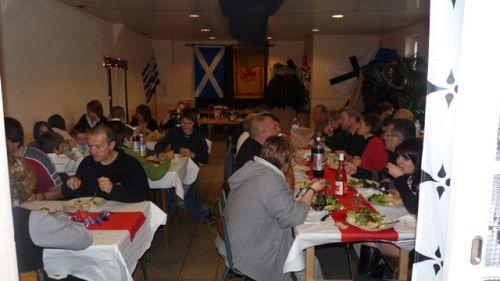 Repas après l'assemblée Générale d'Askol Ha Brug Pipe Band