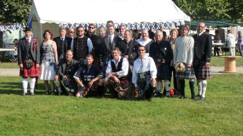 Photo de groupe des membres qui ont fait le déplacement