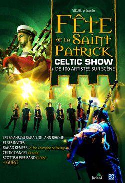 Affiche de la Saint Patrick au Liberté à Rennes