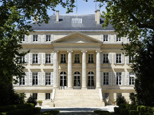 FACADE CHATEAU MARGAUX