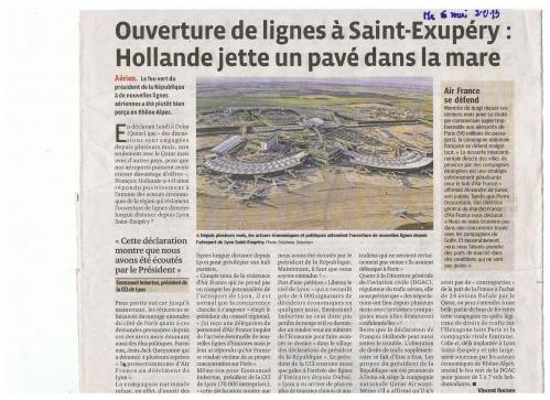 Ouverture de lignes à St EX Hollande.jpg
