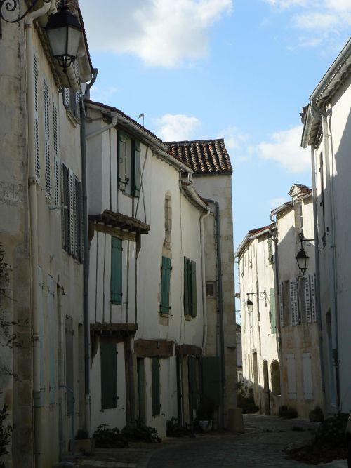 Rue de Saint Martin de Ré