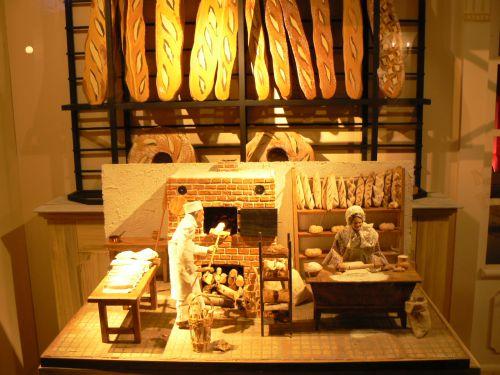 Automate publicitaire pour une boulangerie pâtisserie