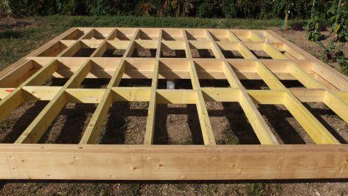 Doutes sur la construction de mon chalet en ossature bois 16 messages - Construire un plancher bois ...
