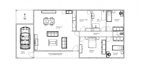 maison clara pour autoconstruction du kit au hors eau hors air autoconstruction maison en. Black Bedroom Furniture Sets. Home Design Ideas