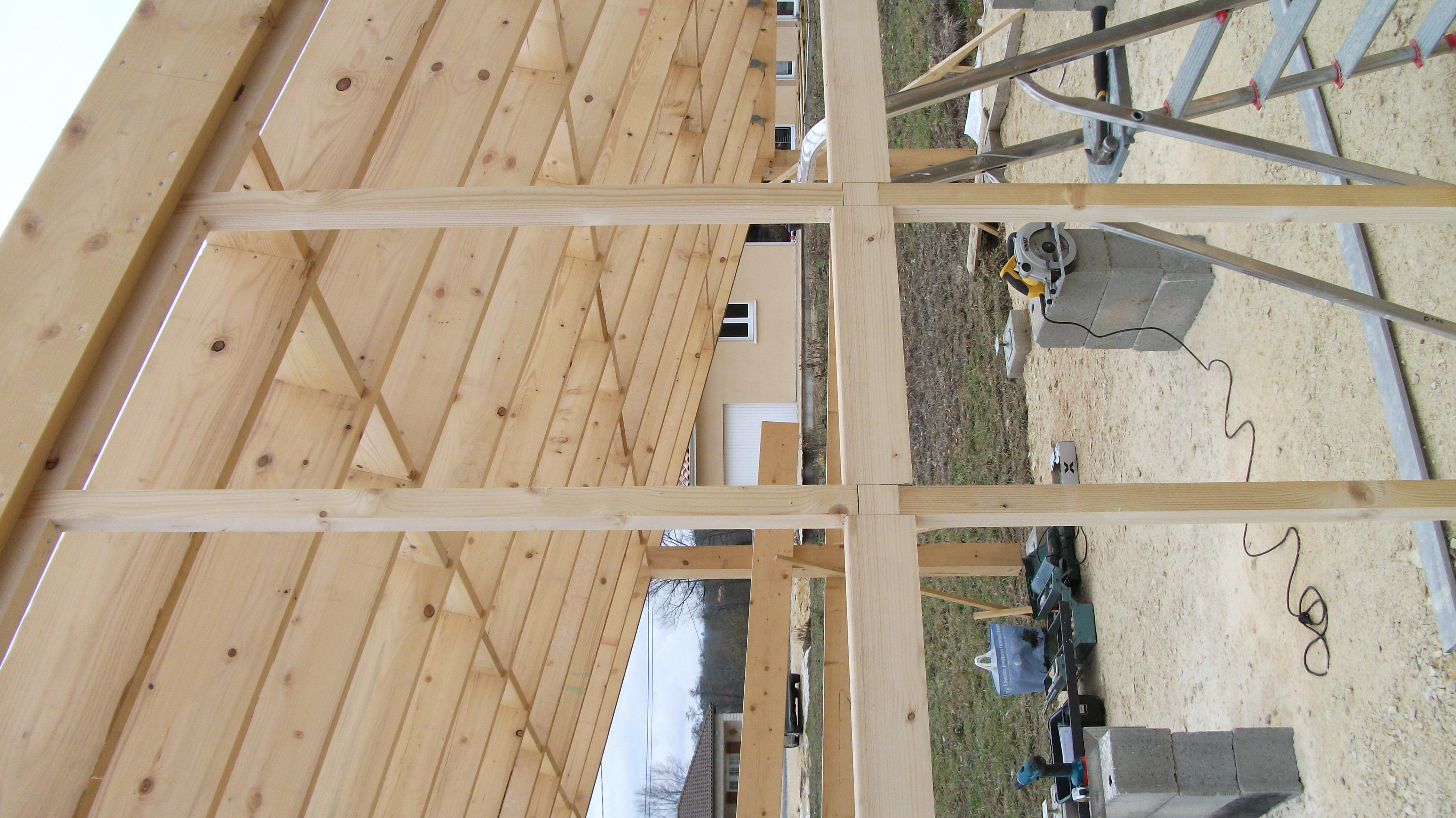bardage carport auto construction les forums de maisons bois international. Black Bedroom Furniture Sets. Home Design Ideas
