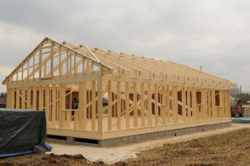 Maison en ossature bois autoconstruction maison en for Autoconstruction maison en bois
