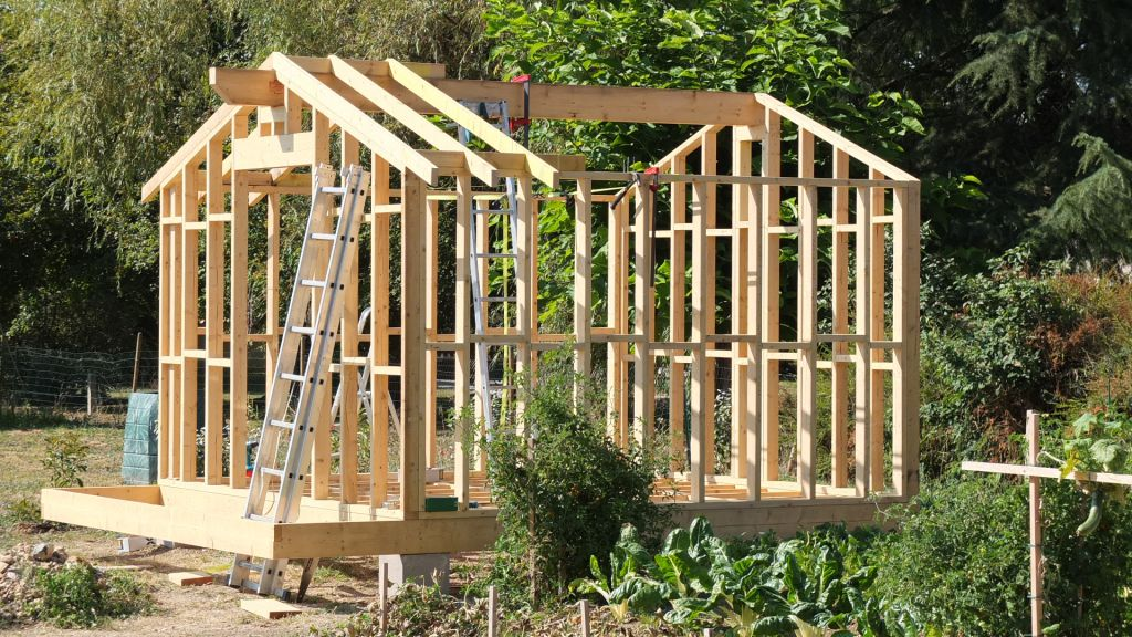 Forum plancher abri de jardin sur parpaing - Marc fait des plans pour construire un abri de jardin ...