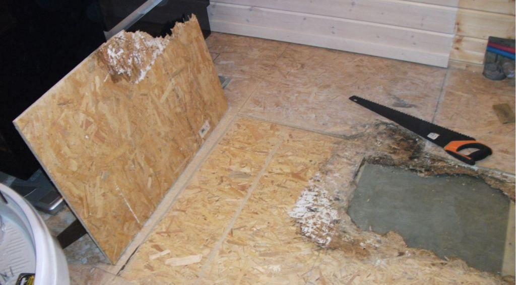 D g t des eaux sur dalle en bois autoconstruction maison en ossature bois - Champignon vide sanitaire ...
