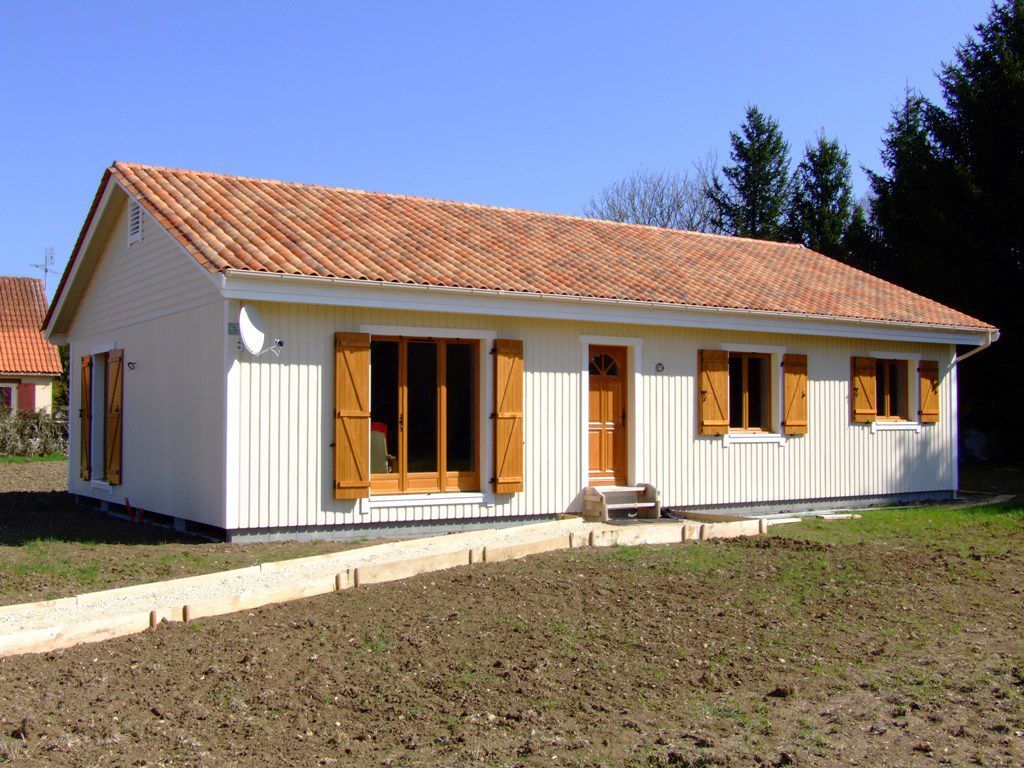 Pose de volets battants en bois  Autoconstruction maison
