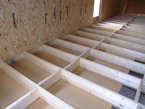 Dalle bois fond de caisson 9 messages - Faire isoler un plancher bois par dessus ...