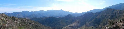 Un paysage minéral au-dessus de Collioure