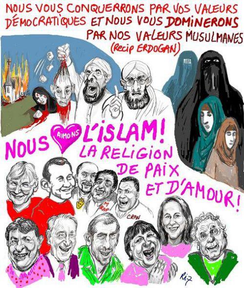 Des musulmans manifestent à Paris malgré l'interdiction Artimage_394896_3305336_20110325330252
