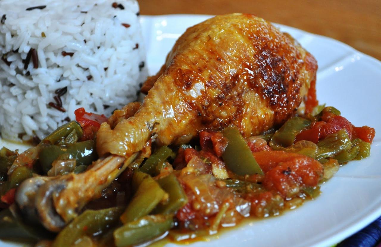 Poulet basquaise les recettes d 39 hugo for Recette poulet