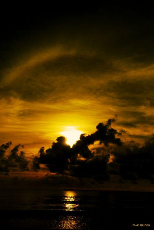 le retour du père Noel... dans le ciel de Guadeloupe...