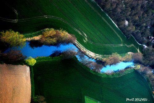 foto aérienne région parisienne