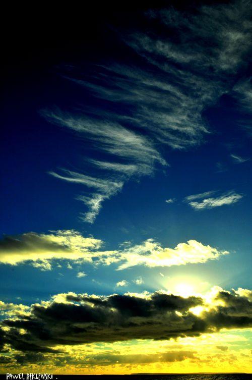 ciel de traîne