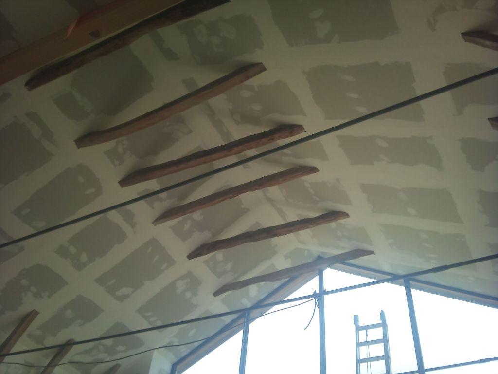 2011 11 enduits et bandes du placo r habilitation d 39 une grange dans le cantal. Black Bedroom Furniture Sets. Home Design Ideas