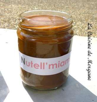 Nutella maison la cuisine de morgane - Nutella maison cuisine futee ...