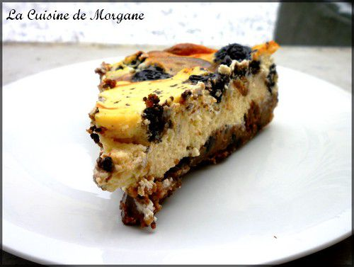 Cheesecake aux or os la cuisine de morgane for La cuisine de morgane