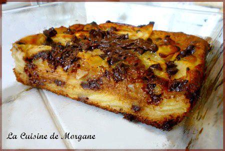 recette gateau aux pommes chocolat