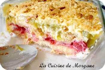 Tiramisu rhubarbe et framboise la cuisine de morgane for La cuisine de morgane