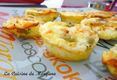 Mini clafoutis olive et feta la cuisine de morgane for La cuisine de morgane