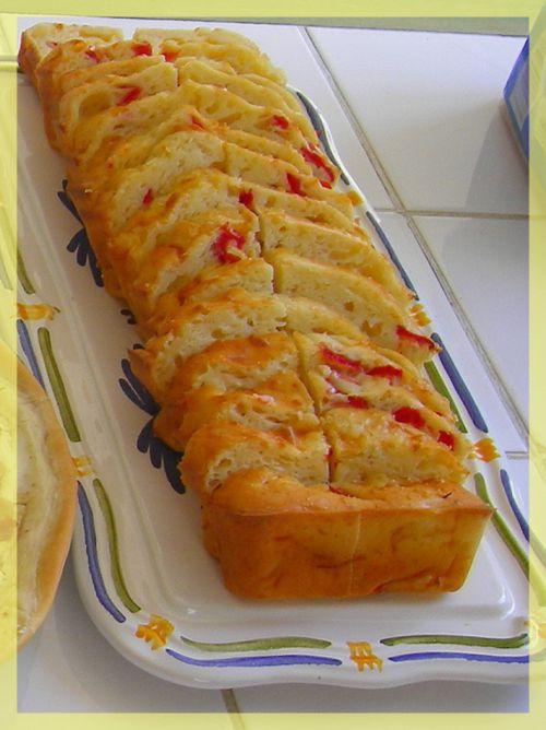 Cake Saumon Tomates