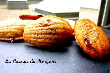 Madeleines au nutella la cuisine de morgane for La cuisine de morgane